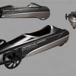 Porsche Design Gravity Car by 3dyn
