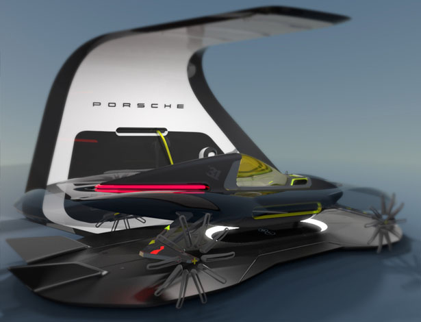 Project 31 Concept Sports Car Proposal for Porsche by Michael Silbereis