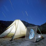 Watch Movies at Campsites with Portable Camping Projector
