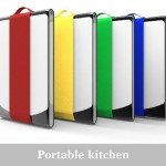 Portable Kitchen Concept by Merwyn Wijaya Utilizes Ferromagnetic Shape Memory Alloy To Keep Its Kitchen Utensils Flat