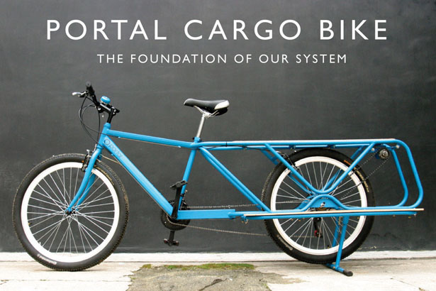 Portal Cargo Bike with Power Take Off