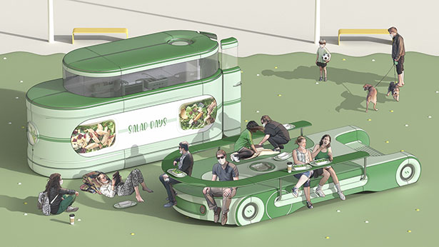 Post Corona Eat-out Business Platform by JungSoo Lee