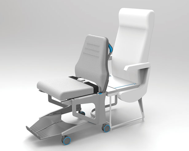 posta seat transfer assist for wheelchair bound airline passenger tuvie. Black Bedroom Furniture Sets. Home Design Ideas