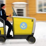 Posten Pod : Urban Mail Delivery Vehicle for Sweden