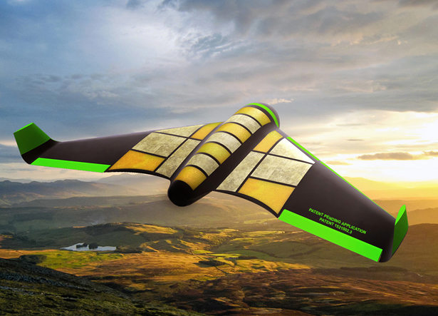 POUNCER Unmanned Air Vehicle (UAV) is An Edible Drone