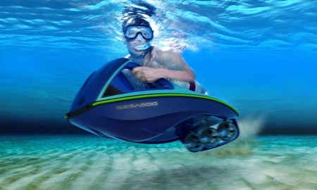 Powered Electric Body Board to Have Fun with Water
