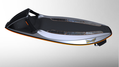 powered body board