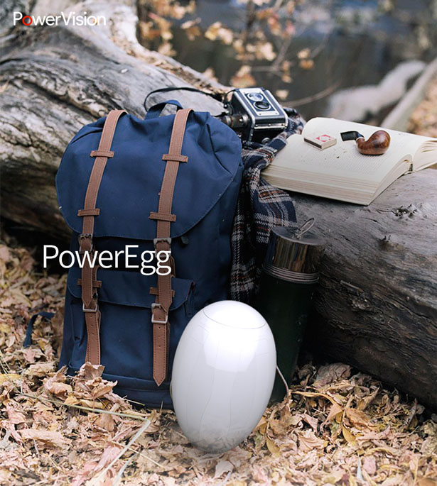 PowerEgg : Egg Shaped Drone by PowerVision