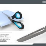 Precissors – Precision Scissors With Ruler