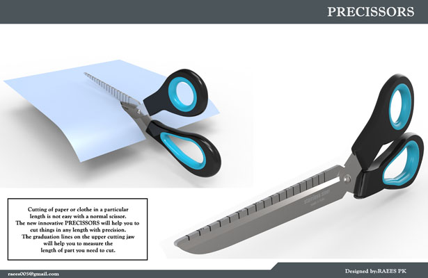 Precissors - Precision Scissors by Raees PK
