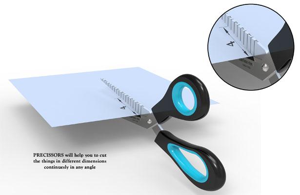 Precissors - Precision Scissors by Raees PK