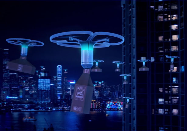 PriestmanGoode Dragonfly Drone Delivery Concept