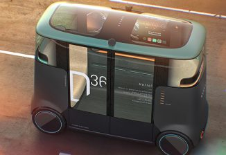 PriestmanGoode x Dromos Technologies Electric Autonomous Vehicle Features Modular Platform