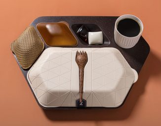 Zero Eco Meal Tray Concept for Airline Raises Awareness About Sustainable Future of Flying