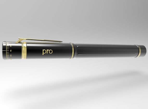 Pro Pen - Pen with Protractor by Chacko T Kalacherry