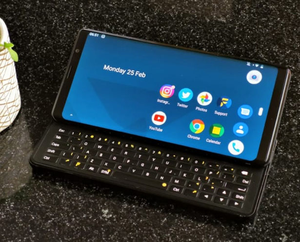 Pro1 Android Smartphone with Slide, QWERTY Keyboard