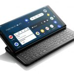 Pro1 Android Smartphone Features Slide, QWERTY Keyboard with Tilted Screen