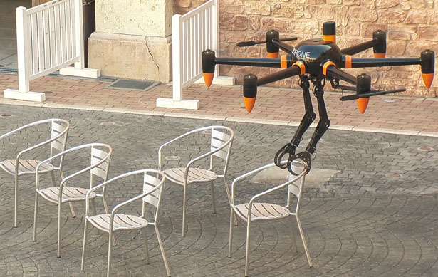 Prodrone Dual Robot Arm Large-Format Drone PD6B-AW-ARM