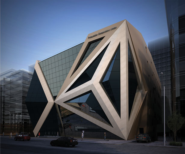 Productive Cooperative Union Mixed Use Building by Sameh Farid