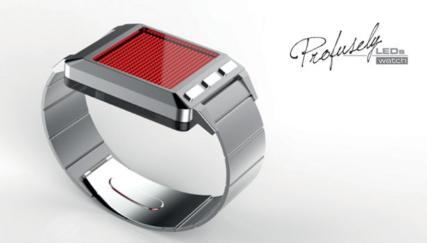 Profusely-LEDs-Watch by Patrick for Tokyoflash