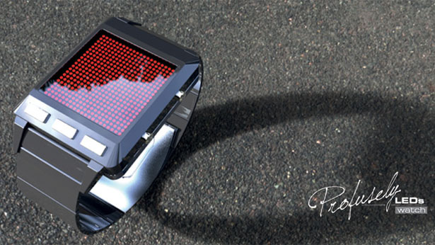 Profusely LEDs Watch by Patrick for Tokyoflash