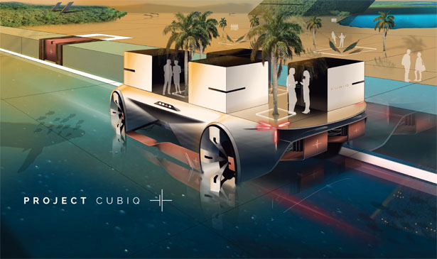 Project Cubiq - Future Mobility Lifestyle for The Year of 2035 by Charles Keusters