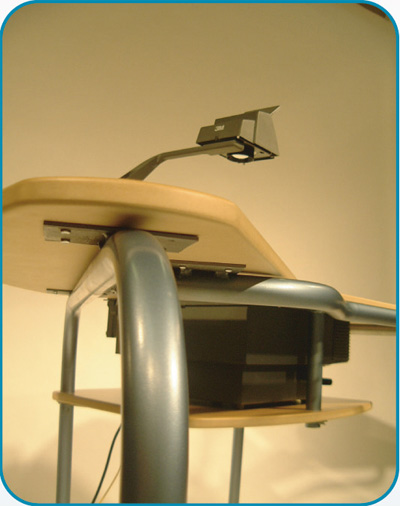 design overhead projector desk