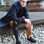 3D Printed Prosthetic Leg Cover Features Beautiful Form of Athletic Leg Muscles