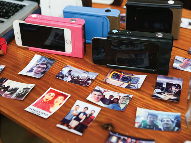 Prynt Instant Camera Case for iPhone and Android Prints Your Photo in Less Than A Minute