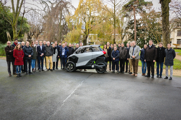 Peugeot Electrified Light Vehicle for EU Urban Mobility Project