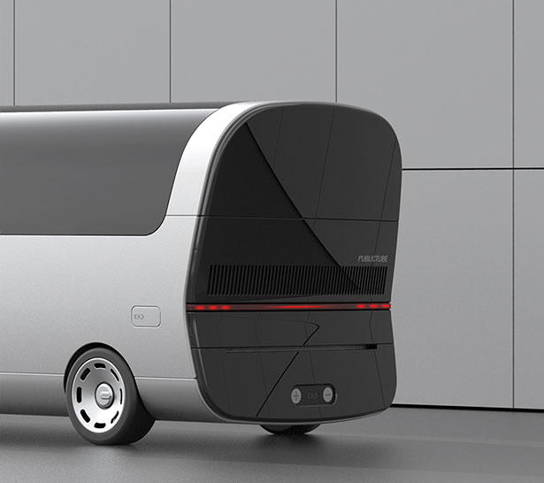 Publictube Rechargeable e-Bus by Andy Kim