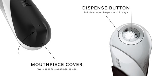 PUF Metered Dose Inhaler by Kelly Custer