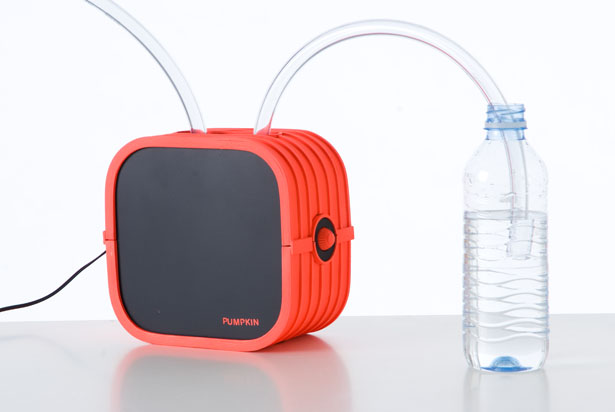 Pumpkin Portable Water Filtration System by Samuel Bernier