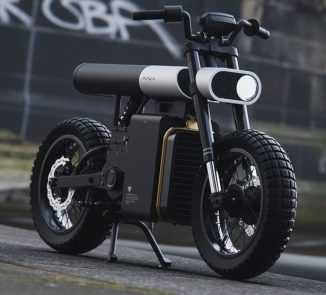 Punch e-Motorcycle Concept is a Modern Representation of Classic Supermoto of The 80s
