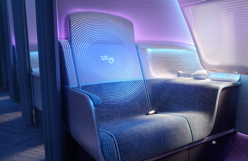 Pure Skies Business and Economy Class Cabins by PriestmanGoode