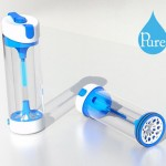 Pure Water Bottle by Timothy Whitehead Kills 99.9% Of Bacteria And Viruses