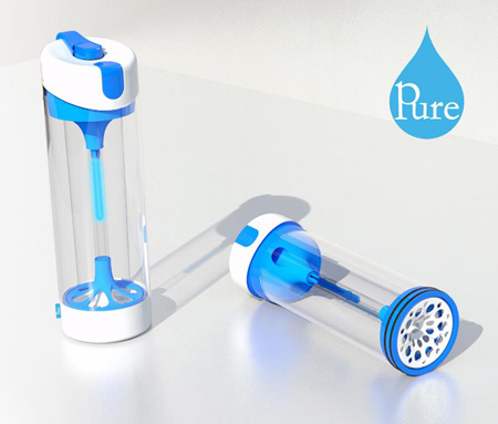 Pure UV Sterilisation Water Bottle