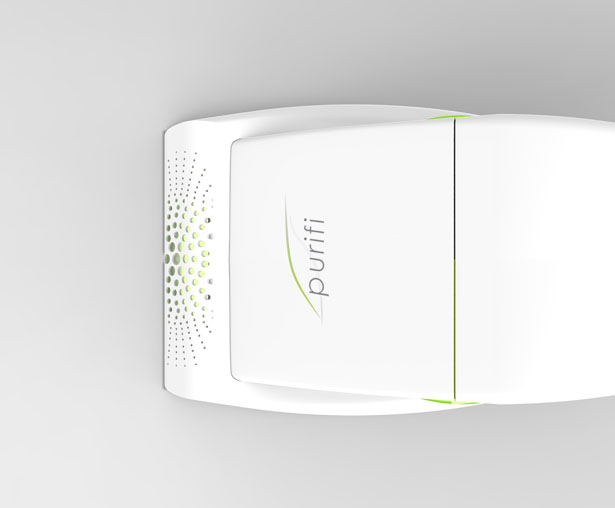 Purifi : Handheld Vacuum and Air Purifier In One by Nicole Assini