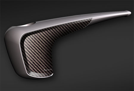 Purisme Luxury Pipe Made From Hi-Tech Carbon Materials