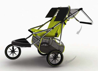 future pushchair for 3 children