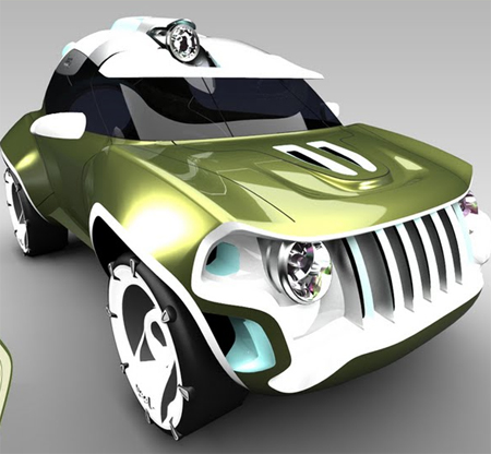 Pygmy Jeep Features Stylish Appearance with Great Functionalities both On and Off Road