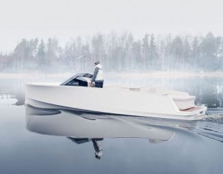 Q-Yachts Q30 Electric Boat Offers Smooth Ride and Silent Operation