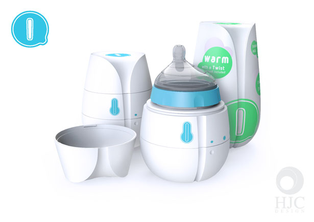 Qi Self Heating Disposable Baby Bottle Provides Comfort for Both Parents and Baby