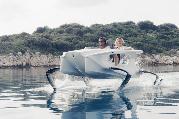 Quadrofoil Electric Hydrofoiling Personal Watercraft