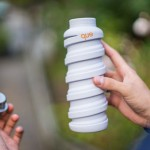 Que Bottle : Stylish Collapsible Travel Water Bottle