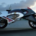 Mercury Concept Bike Utilizes Aero Gel Within The Body In Order To Float In Water