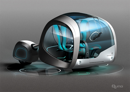 quno futuristic vehicle