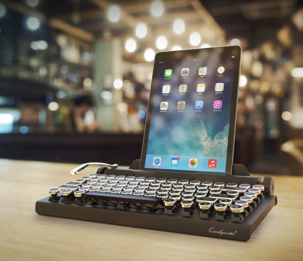 Qwerkywriter Retro Mechanical Bluetooth Keyboard