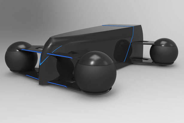 R1 Concept Car for 2030 by Nicholas Evans