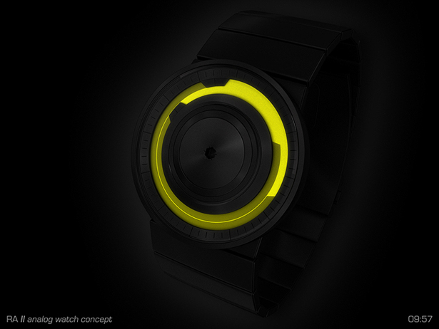 RA Analog Watch Concept by Samuel Jerichow